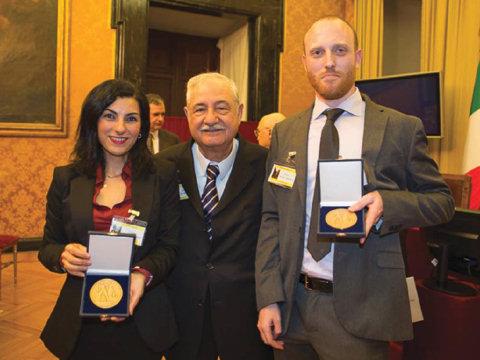 Andare a Montecitorio per un premio ai giovani ricercatori