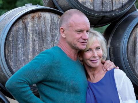 """Sting, Trudie e i vini de """"Il Palagio"""""""
