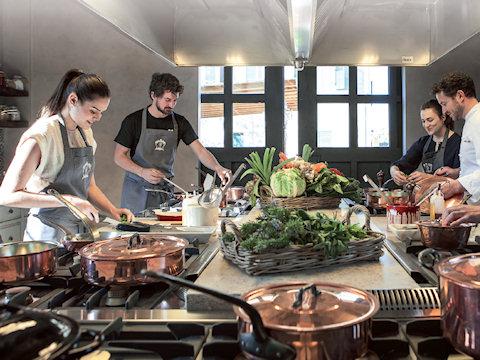 Tradizione e innovazione alla scuola di cucina di Borgo Santo Pietro