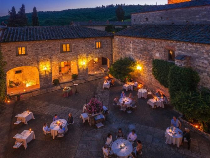 """""""Dining With The Stars"""" seconda edizione al ristorante 'Il Pievano' del Castello di Spaltenna"""