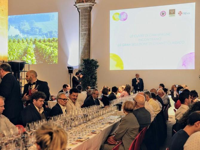 Chianti Classico e Champagne raccontati in scatti d'autore a Palazzo Vecchio